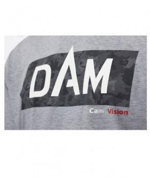 Dam Camovision Logo T-Shirt Grey