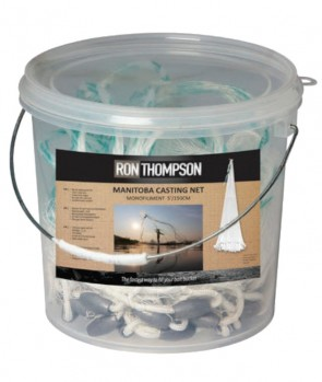 Ron Thompson Manitoba Monofiliment Casting Net 5'/150Cm