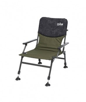 Dam Camovision Compact Chair With Armrests Steel
