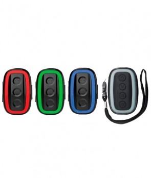 Madcat Topcat Alarm Set 3+1 Red Green Blue
