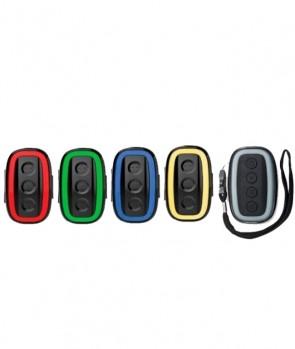 Madcat Topcat Alarm Set 4+1 Red Green Blue Yellow