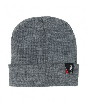 Dam Classic Fold-Up Beanie One Size Grey Melange