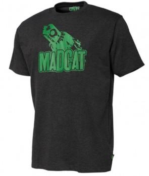 Madcat Clonk Teaser T-Shirt Dark Grey Melange