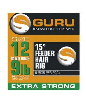 Guru Feeder Hair Rigs (standard) 38 cm