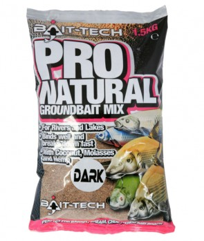 Bait Tech Pro Natural Dark Groundbait 1.5kg