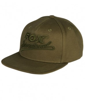 Fox Khaki college snap back