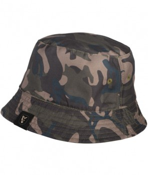 Fox Khaki / Camo reverse bucket hat