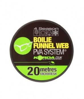 Korda Boilie Funnel Web Micromesh Refill-20m