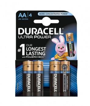 Duracell Baterija MN 1500 AA Ultra / 1,5V / 4 KOM