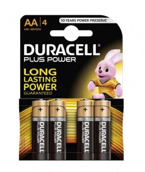 Duracell Baterija MN1500 Basic AA / 1,5V / 4 KOM