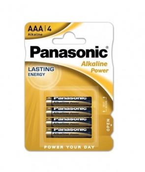 Baterija Panasonic Alkaline Power AAA/LR03 MN2400 4 kom