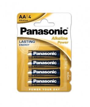 Baterija Panasonic Alkaline Power AA/LR6 MN1500 4 kom