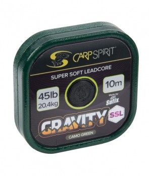 Sufix Carp Spirit Gravity Super Supple Lead Core 10m 45lb
