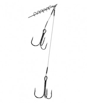 Jaxon Sumato Wire Leaders With Two Hooks