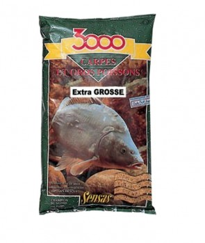 Sensas 3000 Carp Large Particles 1kg
