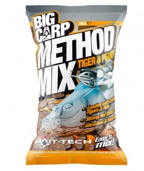Bait Tech Method Mix Tiger & Peanut 2kg