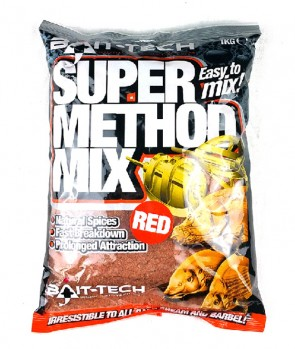 Bait Tech Method Mix Super Red 2kg