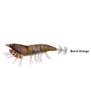 Savage Gear 3D Hybrid Shrimp 9.2cm 21g EGI Jig Glitter 10-Burnt Orange