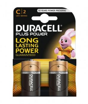 Duracell Baterija MN1400 Plus C / 1,5 V / 2KOM