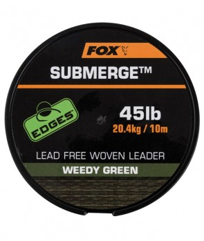 Fox Submerge Lead Free Leader Green 10m / 35lb