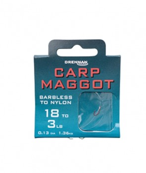 Drennan Barbless Carp Maggot