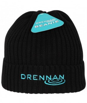 Drennan Knitted Beanie-Black