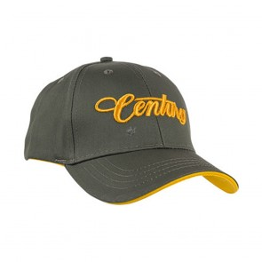 Century 3D Baseball Cap Olive Green With Gold Logo
