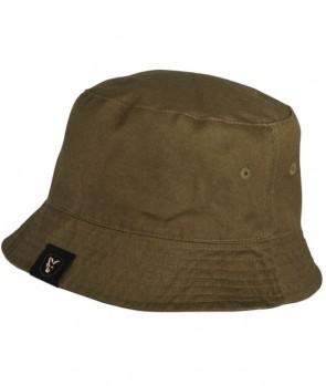 Fox Khaki / Camo reverse bucket hat