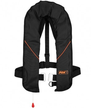 Fox Life Jacket Black and Orange