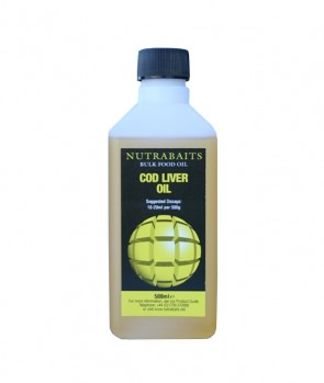Nutrabaits Bulk Food Oil Cod Liver 500 ml