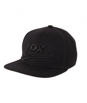 Fox Fox International Black Snapback Cap