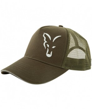 Fox Green Silver Trucker Cap