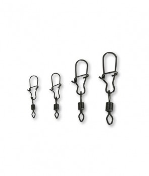 Effzett D-Lock Snap Swivels / 10pcs