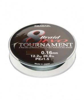 Daiwa Tournament 8 Braid EVO 135m Dark Green