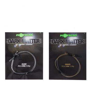 Korda Dark Matter Leader QC Swivel 50cm 40lb
