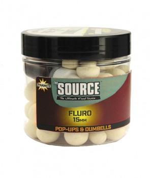 Dynamite Baits Source Fluro Pop Ups 15mm