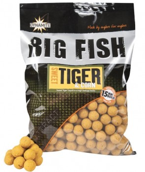 Dynamite Baits Boile Sweet Tiger Corn 1.8kg 15mm
