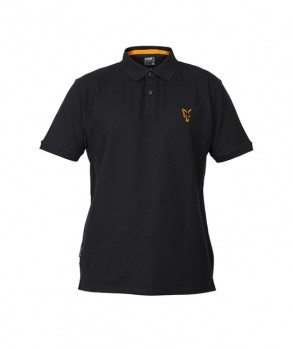 Fox Collection Black / Orange Polo Shirt