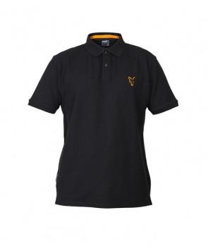 Fox Collection Black / Orange Polo Shirt