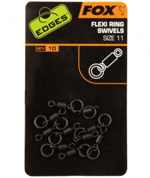 Fox Edges Flexi Ring Swivel 11 10kom