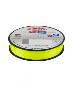 Berkley X9 Braid Fluo Green 150m