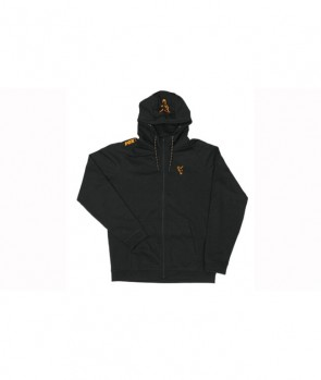 Fox Collection Black / Orange LW Hoodie