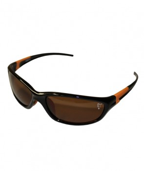 Fox Sunglasses XT4 Black Frame / Brown Lense