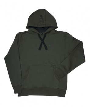 Fox Green Black Hoodie XXXL