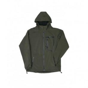 Fox Green Black Softshell Jacket