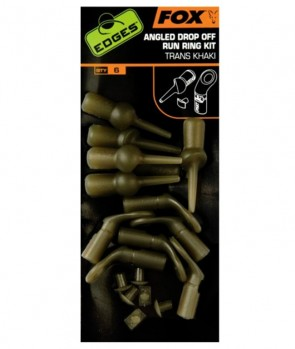 Fox Edges Angled Drop-off Run Ring Kit Trans Khaki 6kom