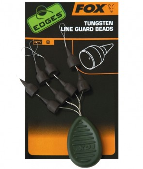 Fox Edges Tungsten Line Guard Beads 8kom