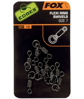 Fox Edges Flexi Ring Swivel 10kom