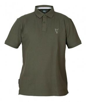 Fox Collection Green & Silver Polo Shirt