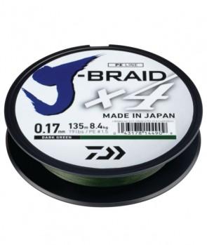 Daiwa J-Braid X4 270m